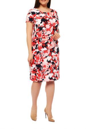 Платье FRANK WALDER. Цвет: красный