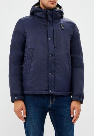 Куртка утепленная Blauer. Цвет: синий