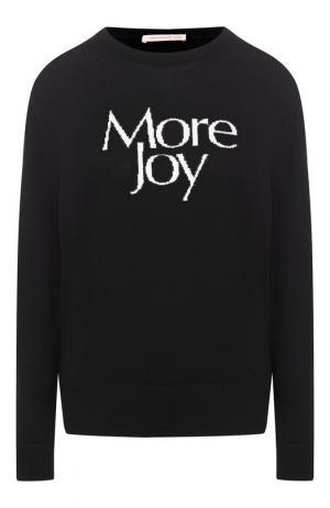 Шерстяной пуловер Christopher Kane. Цвет: черный