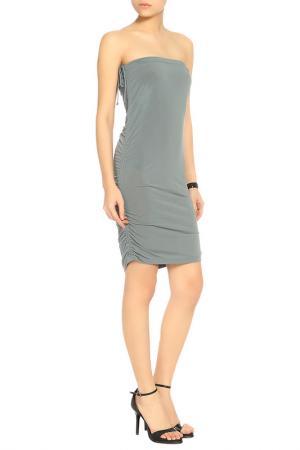 Платье CARACTERE. Цвет: серый