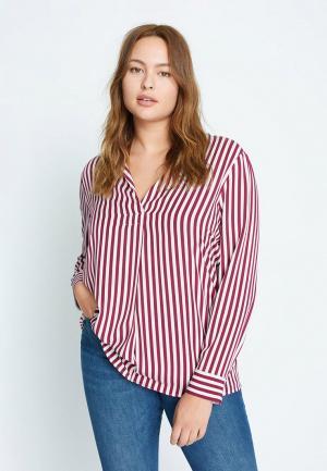 Блуза Violeta by Mango. Цвет: красный