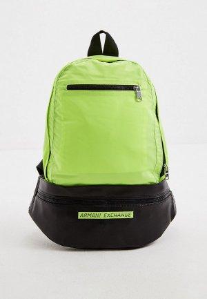Рюкзак Armani Exchange. Цвет: желтый