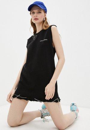 Платье Chiara Ferragni. Цвет: черный