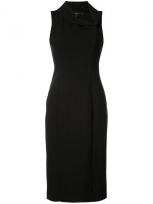 Платье Jackie O Black Halo. Цвет: чёрный