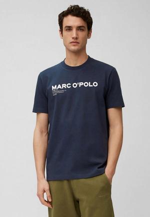 Футболка Marc OPolo O'Polo. Цвет: синий