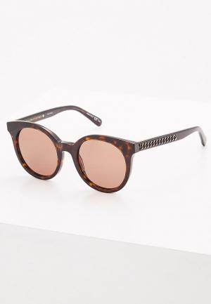 Очки солнцезащитные Stella McCartney. Цвет: коричневый