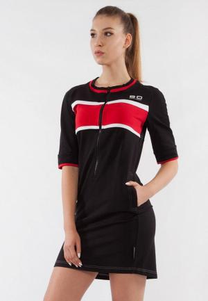 Платье Bodro Design. Цвет: черный