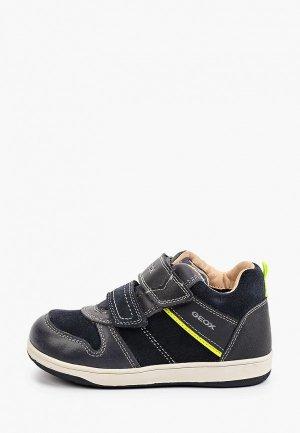 Ботинки Geox. Цвет: синий