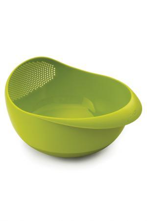 Миска-дуршлаг Prep&Serve 2-в-1 JOSEPH. Цвет: зеленый