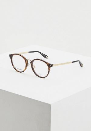 Оправа Givenchy. Цвет: коричневый