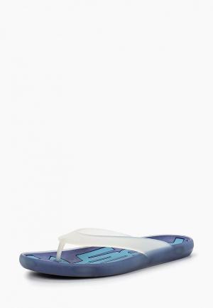 Сланцы Camper. Цвет: голубой