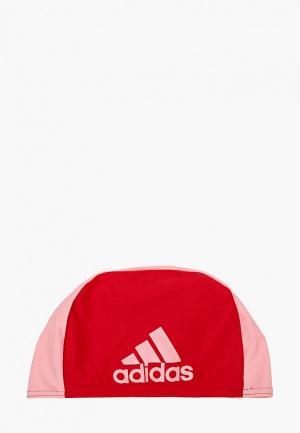Шапочка для плавания adidas. Цвет: разноцветный