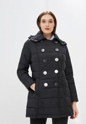 Куртка утепленная Camomilla Italia. Цвет: черный