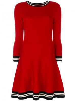 Платье Milano Chinti & Parker. Цвет: красный