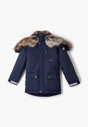 Куртка утепленная Kerry. Цвет: синий