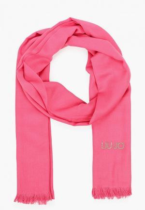 Палантин Liu Jo. Цвет: розовый