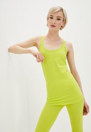 Майка спортивная Deha. Цвет: зеленый