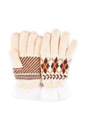 Перчатки Modo Gru. Цвет: белый