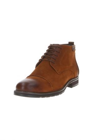 Ботинки BARCELO BIAGI. Цвет: рыже-коричневый