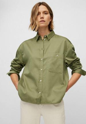 Рубашка Marc OPolo O'Polo. Цвет: зеленый