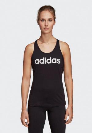 Майка спортивная adidas. Цвет: черный