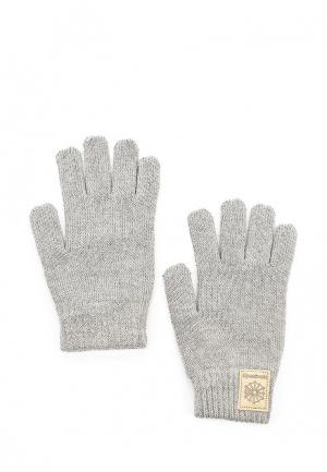 Перчатки Reebok Classics. Цвет: серый