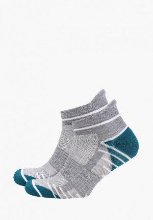 Носки 2 пары DIM. Цвет: серый