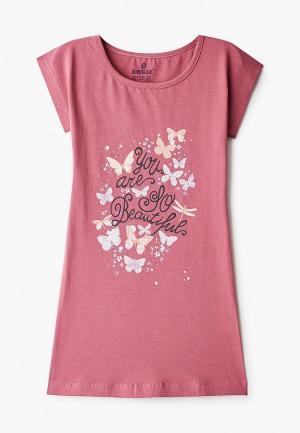 Сорочка ночная Baykar. Цвет: розовый