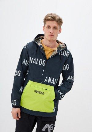 Куртка утепленная Analog. Цвет: синий