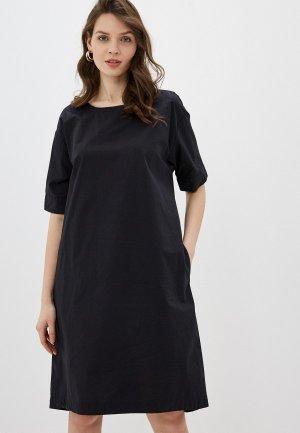 Платье United Colors of Benetton. Цвет: черный
