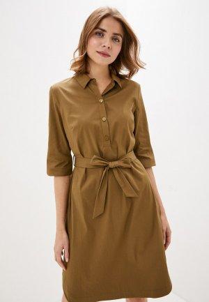 Платье Gerry Weber. Цвет: коричневый