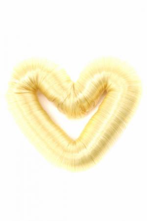 Валик для волос DIVA. Цвет: кремовый