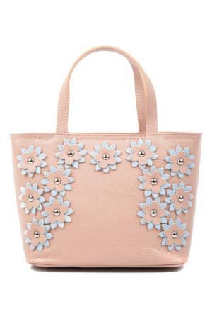 Bag CARLA FERRERI. Цвет: pink