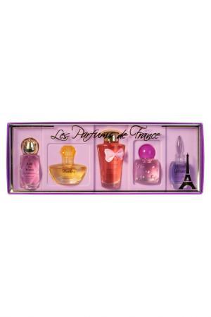 Les Parfums de France,  5 шт CHARRIER. Цвет: белый