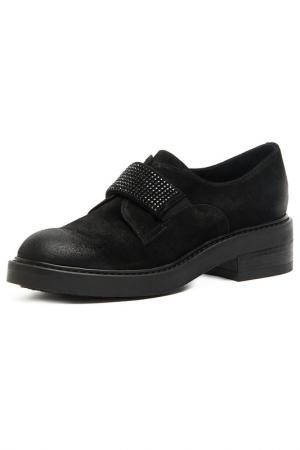 Low shoes MANAS. Цвет: black